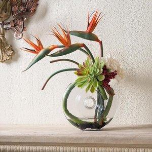 Artificial Flower Bird Of Paradise Fake Plant Silk Strelitzia Reginae Home Decor Artificial & Dried Flowers Hot Sale