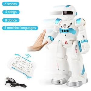 Allock Induction Dancing Singing Robot Kid's Programming Intelligent Infrared RC Gesture Induction Dialogue High-tech 201211