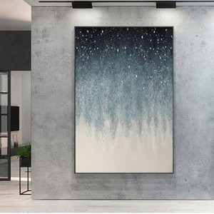 Large size Hand painted abstract painting wall Painting wall art canvas Oil Painting for living room bedroom decora Wall Picture Z1202