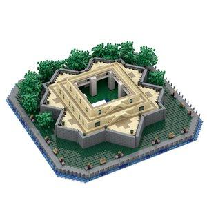 Yeni Özgürlük Temel Heykeli Noel Dekorasyon Süsler MOC-49317 Koleksiyon Yapı Taşları Oyuncaklar Çocuk Hediyeler 2677 adetsq1221