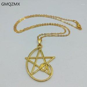 Mode Fibonacci Silber Goldene Verhältnis Anhänger, Fibonacci-Sequenz Halskette, tragbare Mathematik, einfacher fünfzackiger Stern-Halskette1