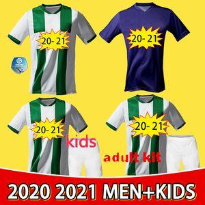 20-21 Groningen Football Home Jersey 10 Robben 2021 Ropa deportiva para hombre Green White Groningen Uniforme de fútbol personalizado 2021