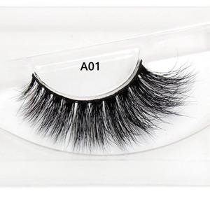 2020 25mm lashes 5D Mink Eyelashes False Eyelashes Crisscross Natural Fake lashes Makeup 3D Mink Lashes Extension Eyelash