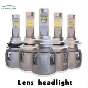 X70 H7 LED H4 램프 15600LM D4S H8 H1 H11 9005 D3S 9006 4 D1S 자동차 헤드 라이트 전구 6000K 안개 조명 12V XHP-70 렌즈 크리 칩 1
