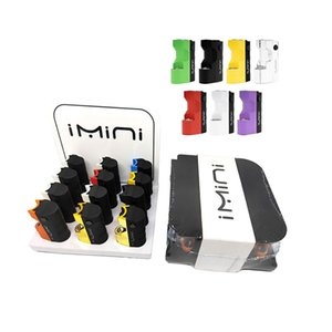 Original Imini V2 Battery Pack In Display Box of 12CT 650mAh Preheat VV Voltage Vaporizer Mod for Thick Oil Cartridges