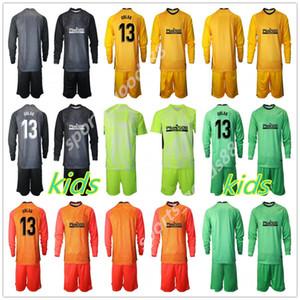 20 21 hombres Long 13 Oblak Portero Jerseys Adan Soccer Sets 13 Jan Oblak 1 # Adan GK Jerseys Adultos Football Packie Uniform Conjuntos