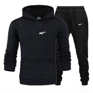 2020 men Tracksuit Designer New Sportswear Sets Winter 2020 Casual clothes large size woman Two Piece Suit Hoodies Sweatshirt+joggers pants