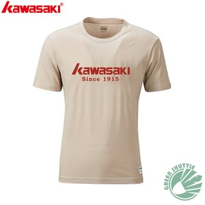 Professional 2020 New Kawasaki 100% Polyester Badminton T-shirt Men And Women ST-R3240 R3250 Moisture Wicking badminton T-shirt Q1121