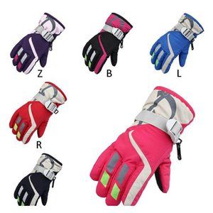 windproof ski gloves cycling snow snowmobile motorcycle snowboard winter waterproof warm outdoor skiing gloves