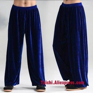 Invierno Tai Chi pantalones Velvet Martial Art Pants Yoga1