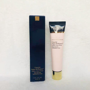 Бренд 40 мл фонда Premer Cream Futurist Aqua Brilliance Watery Glow Ground Primer Base De Teint Breaken Breading увлажняющий увлажняющий крем легко носить