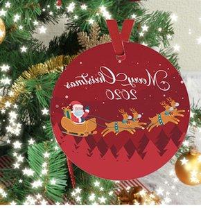 New Christmas Pendant Epidemic Prevention Christmas Tree Festival Pet Material Decorations Family Survivors Quarantine Ornaments Wholesale