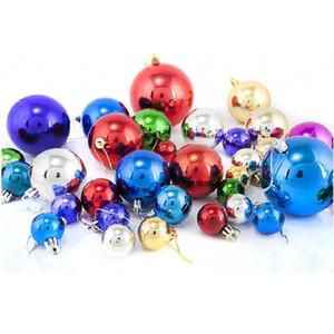 24Pcs   Set of Plastic Christmas Balls On The Christmas Tree Decorations for Home Xmas Balls Tree Ornaments 2021 New Year Decor Z1128
