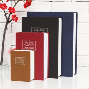 Dictionary Book Hidden Storage Box Simulation Piggy Bank Mini Safety Boxes Key Private Domestic Money Cash 17 2zf D2