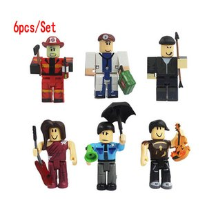 6pcs Set ROBLOX Action Figures 7cm PVC Suite Dolls Toys Anime Model Figurines for Decoration Collection Christmas Gifts for Kids Z1120