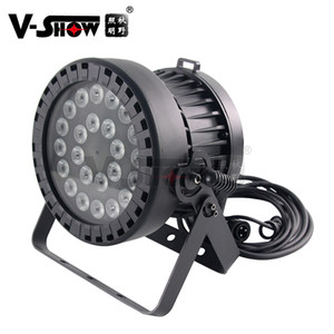 Nuovo design 24x10W RGBW 4 IN1 LED all'aperto PAR PAR Veloce e regolare Dimming per decorazione Garden Family Party Lights