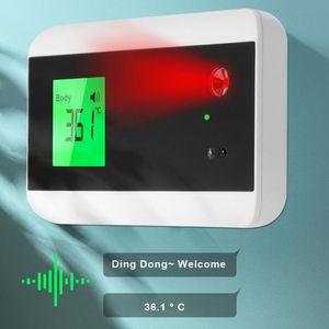 Misurazione della temperatura del riconoscimento del viso Misurazione della temperatura del sistema di controllo dell'accesso USB Sistema del corpo a infrarossi Termometro del corpo della temperatura del corpo