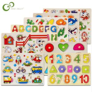 30 cm Çocuk Erken Eğitici Oyuncaklar Bebek El Kavrama Ahşap Bulmaca Oyuncak Alfabe Ve Rakam Öğrenme Eğitim Çocuk Ahşap Oyuncak WYQ 201218