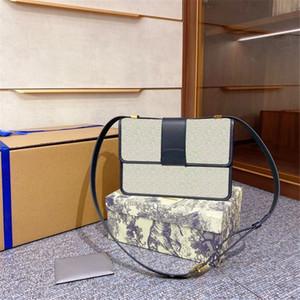 2020 наклонные роскоши дизайнер женские плечо Postman сумки вышивка вязание холст крест корпус старинный почтальон сумки модные сумки сцепления