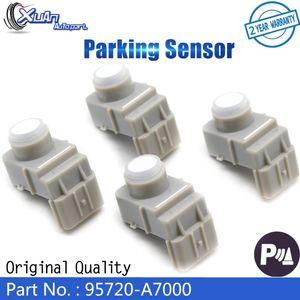 XUAN 4pcs High Quality 95720-A7000 Ultrasonic PDC Parking Sensor Bumper Reversing Radar for IX35 Kia cerato couple 2014 car