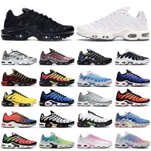 TN Desconto Tênis Das Mulheres Clássico Tn Mulheres Running Shoes Preto Vermelho Branco Sports Trainer Mulher Superfície Respirável Sapatos Casuais