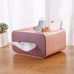 Çok fonksiyonlu doku kutusu kapağı, rechthoekige dokusu doos houder, dağıtıcı doos voor keuken, woonkamer kutusu