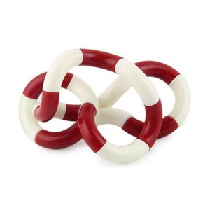 Kid Anti Stress toy Hand Sensory Decompression Twisted Winding Toys Finger for Kids Autism Dexterity Training Tangle Fidget Toys