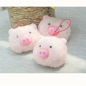 Niedliche Cartoon Mini Pig Plüschspielzeug Kleine Anhänger Wurfspuppe 6Lig00