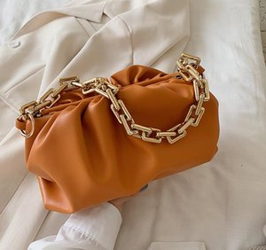 2021 new fashion luxdesig bags saddle women handbag Trend Leather Crossbody c-l-o-u-d Womens handbags purses Chain Shoulder bag A3711#