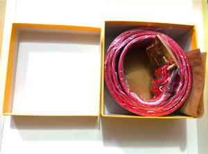 Venda quente Estilo clássico fivela com 20 modelos Mens Womens RIEM Realimagem 105cm-125cm não com caixa como presente 8k75qd