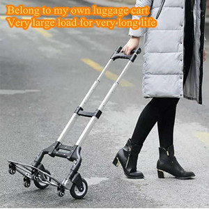 Auto accessories Folding luggage carts, Car trolleys,Aluminium alloy material,Upgrade shopping trolley1