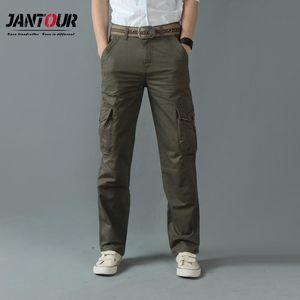2020 осень зима мужские грузовые брюки мода 4 цвета хлопчатобумажные многонациональные брюки наружные брюки брюки брюки одежда