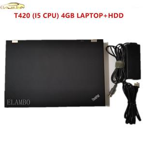 2020 ordinateur portable de diagnostic de qualité supérieure pour Lenovo T420 CPU 4GB avec 1TB HDD peut fonctionner pour AllData Software MB Star C51