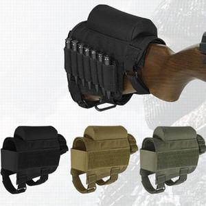 النايلون الخد بقية بندقية حزمة بعقب الأسهم متعددة الوظائف قناص في الهواء الطلق الرياضة المعدات الرصاص حامل حقيبة المحمولة التكتيكية