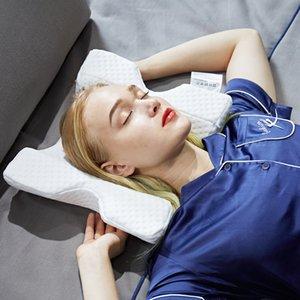 Sevgililer Günü Hediyeleri 100% Bellek Köpük Kemerli Yastık Çift Sarılı Uyku Yastık Anti El Numb Boyun Koruma Ölü Arms Ofis Uyuk V4