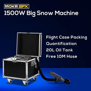 Snow Blower Machine Special Effets 1500W Quiet Snow Maker Machine  Movie Snow Machine Dmx Control For Concert Photograph