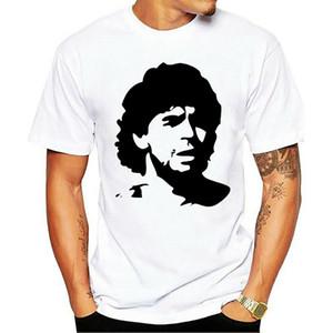 Ebaihui DIEGO MARADONA Argentina Cult Football Legend Heavy Cotton t-shirt Cool Casual pride t shirt men Unisex Fashion tshirt