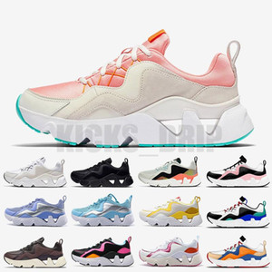 Üst Kalite Kadın Erkek Siyah Koşucular Koşu Tenis Spor Eğitmenler Sneakers Ücretsiz Kargo Ayakkabı Ryz 365 Pembe Beyaz kapalı Ayakkabı Koşu