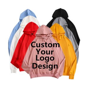 Custom Hoodies Mens Logo Text Photo 3D Hoodie Men Women Personalized Customize Sweatshirts Polluver Customization Dropshipping