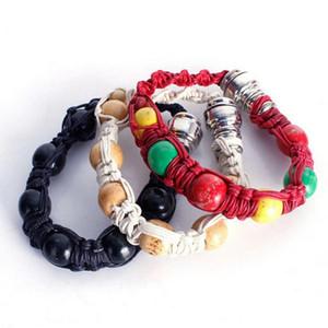 Portable Metal Bracelet Fashion Men Bangle Pipe Smoke Tobacco Pipes For Cigarette Machine Smoking Accessories TTA1603