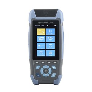 mini OTDR Fiber Optic Reflectometer Pro 980rev with 9 Functions VFL OLS OPM Event Map 24dB for 64km Fiber Cable Ethernet Tester