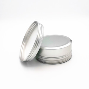150ml Aluminum Jar Empty Aluminum Cosmetic Containers Pot Lip Balm Jar Tin For Cream Ointment Hand Cream Packaging Aluminum Box YYB4250