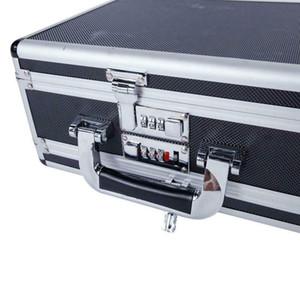 Double Sided Aluminum Pistol Gun Case Security Handgun Carry Storage Box