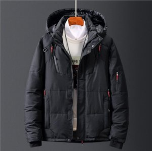 New North The Winter clothing Men Down Jackets Parka keep Warm down Coat Softshell Hats thick outdoor outerwear face mens jacket