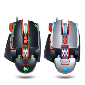 hot sale v9 Mechanical gaming mouse General athletic mouse for laptops home office Mouse mice free shipping
