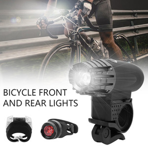 In Stock Bicycle Front Head light Waterproof Road MTB Mountain Bike Front Light Lantern Cycling Lamp Flashlight 201028