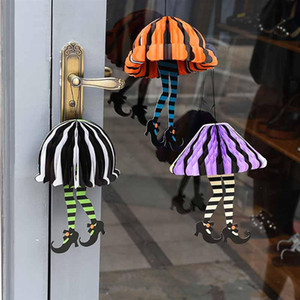 Halloween Decoration Hangings Paper High Heel Parachute Party Hanging Ornament Home Bar DIY Decor Event Party Supplies PPD3309