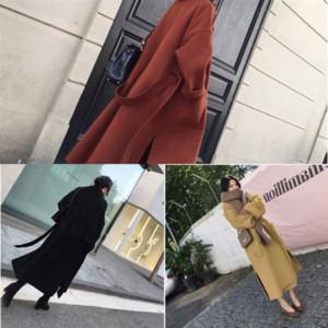 8TJ Automne Coréen Treen Trench Mode Femmes Femmes Couleur Couleur Casual Solid Designer Solide Streetwear Veste de brise-vent lâche