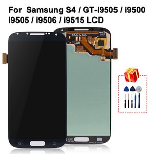 Original For Samsung Galaxy S4 LCD i9500 GT-i9505 i9505 i9506 i9515 i337 Display Touch Screen Digitizer Replacement Parts
