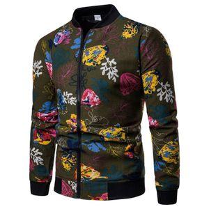 European Spring and Automne Nouveau Jeunes Jeunes Pour hommes Trend Principaux Collier Stand Jacket Slim Coat